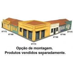 Bar de Esquina Mod. 01 Branco - Dio Maquetes 87173