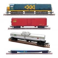 Trem Cargueiro Geral MRS - 6522