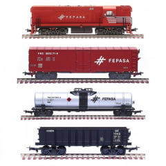 Trem Cargueiro Geral Fepasa - 6512