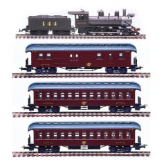 Trem de Passageiros antigo - CPEF - 6509