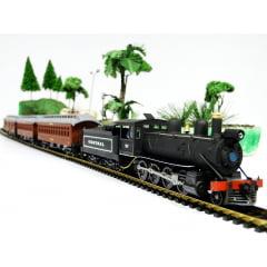 Trem de passageiros antigo - EFCB - 6510