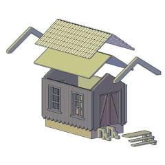 kit - Barraco de Linha 01-302