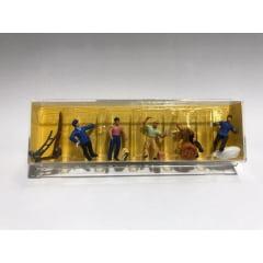Figura Preiser  Trabalhadores com Carga - 10016 (16)