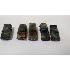 """""""OFERTA"""" Lote de 5 carros militares HO- Roco"""