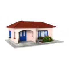 Casa Brasileira em L Rosa / Azul - C-19B