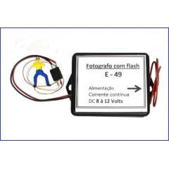 Figura de Fotógrafo com Flash - E-49