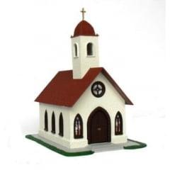 Igreja Versão Teto Vermelho - C-03V
