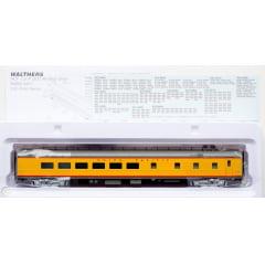 Carros da Union Pacific (R) City Streamliner prontos para correr - ACF 48-Seat Diner Lot # 1405 (Armor Yellow, cinza, prata, vermelho)