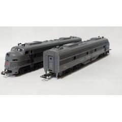 Conjunto Locomotivas E8 A/B Rivarossi HO 1925 Nyc New York Central - 1925