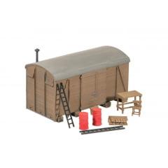 Kit p/ Montar  corpo de vagão Aterrado - Ratio #507