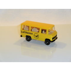 "Ibertren - Minibus MB ""Lufthansa"", H0, sem embalagem, muito raro - K11"