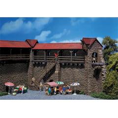 Kit P/ Montar Torres de casca da cidade velha - Faller 130403