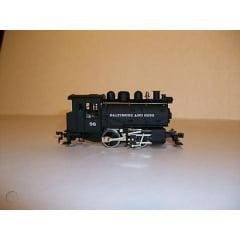 Locomotiva 0-4-0 Dockside  Baltimore and Ohio #98 ( Semi nova ) Mehano