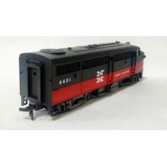 Locomotiva  FA 1 Frateschi New Haven  #0401 - Série Exportação