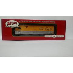 Vagão Box Car Plug Door GARX Rio Grande #50973 - Atlas Master Line