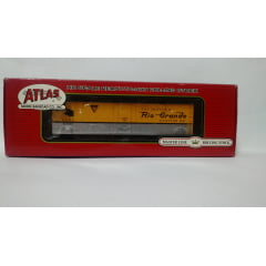 Vagão Box Car Plug Door GARX Rio Grande #50980 - Atlas Master Line